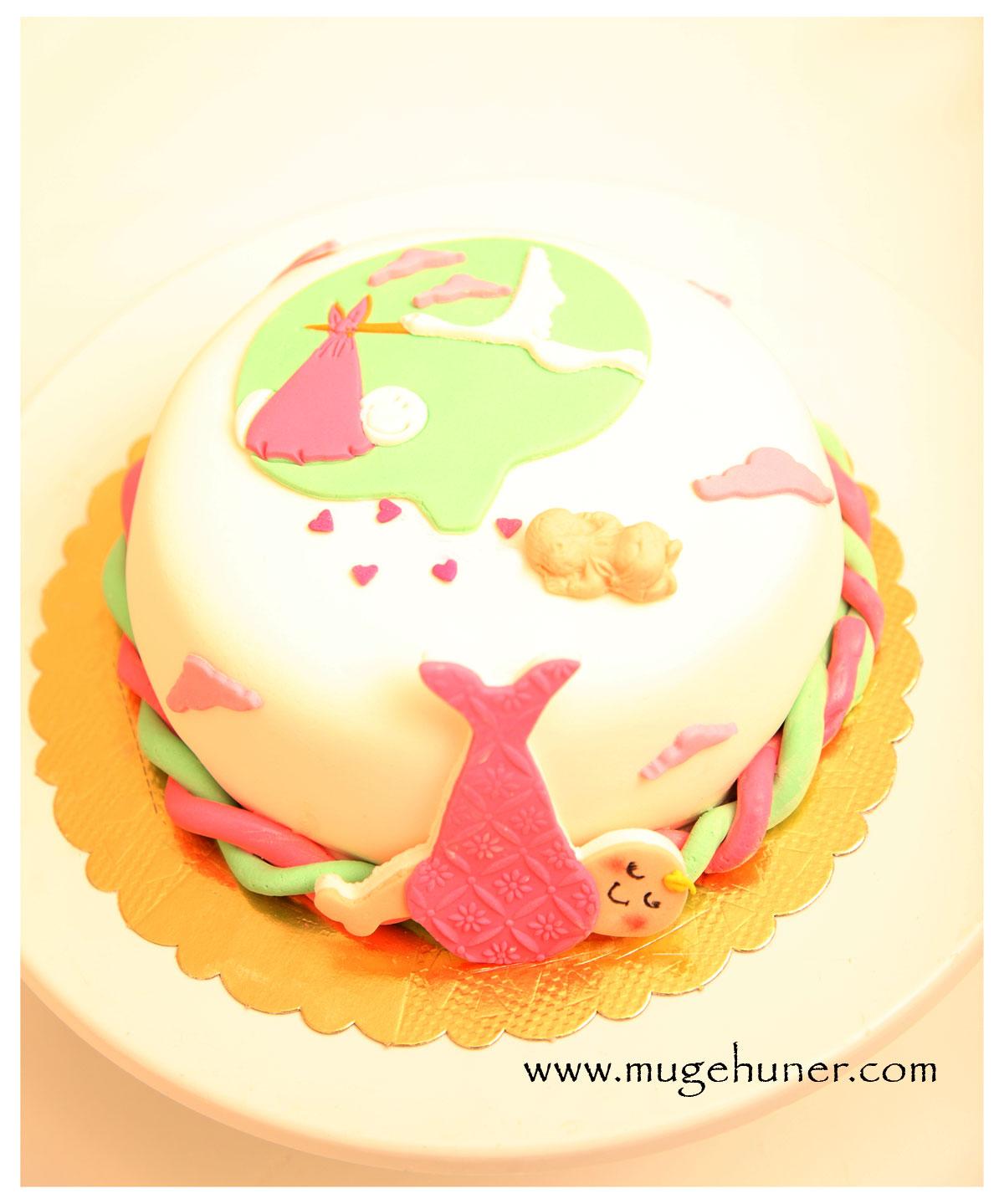 Funda'nın Baby Shower Pastası