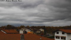 173/365 [365 Project] - Dark Clouds Time-Lapse (Stefano.Minella) Tags: sky music house by clouds canon project dark that effects eos one is video day with post time  over rainy adobe pro l production week after disturbing 365 usm written matteo quick ef f4 lapse stefano 173 composed 500d 2011 timelaspe minella 173rd 24105mm 173365 menegazzo