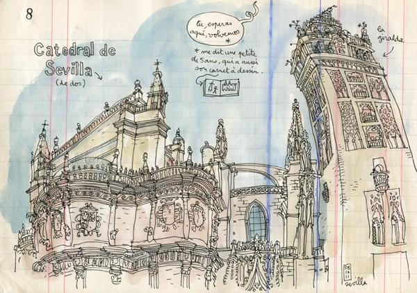 sevilla's catedral