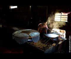 Making Rice Paper (HoangHuyManh images) Tags: niceshot vietnam ricepaper musictomyeyes caibe vnhlong mygearandme hoanghuymanhimages ringexcellence
