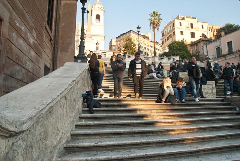 Вверх по Испанской лестнице