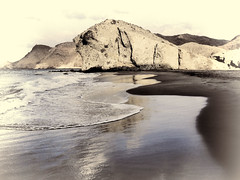 Playa de Monsul. Cabo de Gata.- (ancama_99(toni)) Tags: pictures ocean leica trip travel blue sea vacation sky espaa paisajes naturaleza seascape color beach nature water photoshop landscape geotagged lumix photography landscapes mar photo andaluca spain agua espanha europa europe mediterranean mediterraneo foto photos picture playa paisaje photographic andalucia panasonic cielo fotos sur fotografia sanjos paysage reflexions andalusien espagne almeria almera cabodegata spanien spagna paisagens fotografas 2011 nijar monsul 10favs 10faves 25favs fz7 dmcfz7 25faves njar ancama99 saariysqualitypictures monsl mygearandme mygearandmepremium blinkagain