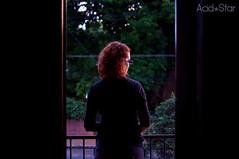 21/365 - Thanks patience... - Sunset II (Acid Star) Tags: sunset sky girl 35mm atardecer mujer chica cieli 365dias
