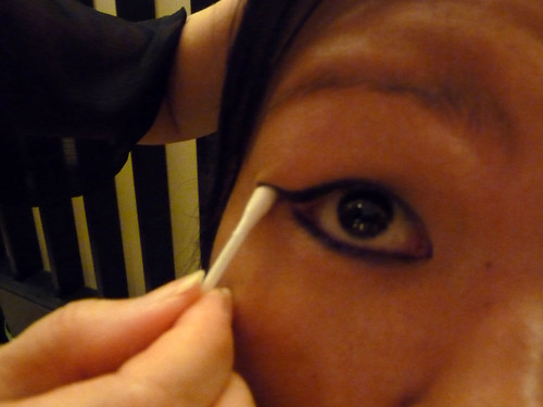 Benefit eyeliner on Joyce