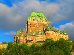 Le Château Frontenac, Québec (twiga_swala) Tags: city canada architecture hotel site quebec grand canadian historic national château ville fairmont frontenac