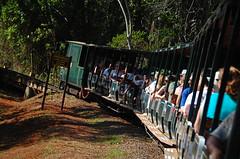Heading to the falls!! (Yohsuke_NIKON_Japan) Tags: southamerica argentina train nikon falls iguazu zoomlens 18200mm d40