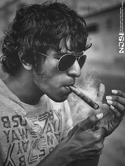 Cigar Smoker (Nael Al.Johani) Tags: portrait cigar smoking smoker
