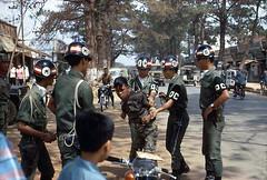 Pleiku - anh lính quậy bị Quân Cảnh tóm (manhhai) Tags: militarypolice mp 1960s qc pleiku quâncảnh