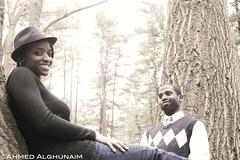 Happy Couple (S_Falcon) Tags: girls bw black female women saudi ahmed blackwoman femal blacklady agphotography blackfemale africanamerica ahmedalghunaim aalghunaim