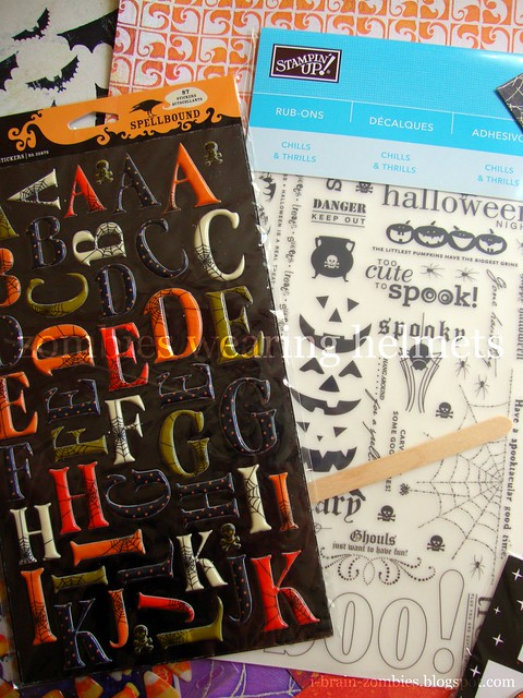 prize from A Nostalgic Halloween's blog giveaway