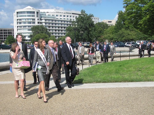Congressional visits on Capitol Hill
