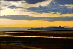 Fremont Island Sunset (Karen McQuilkin) Tags: sunset utah northernutah greatsaltlake tistheseason fremontisland awardtree karenandmc