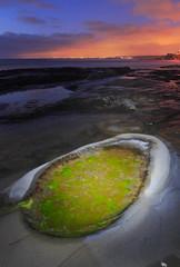 Slimy eye... (Dirty Camera) Tags: ocean california travel sunset sea vacation sky usa cloud seascape storm 20d beach clouds canon landscape photography la san long exposure seascapes pacific dusk diego jolla 1740l