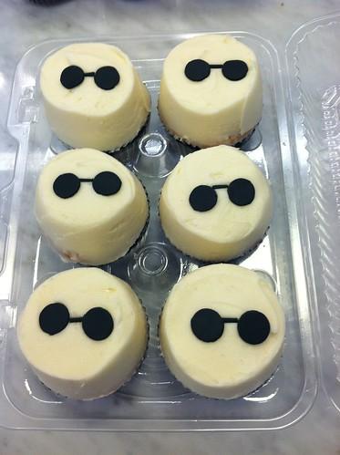 John Lennon Birthday Cupcakes