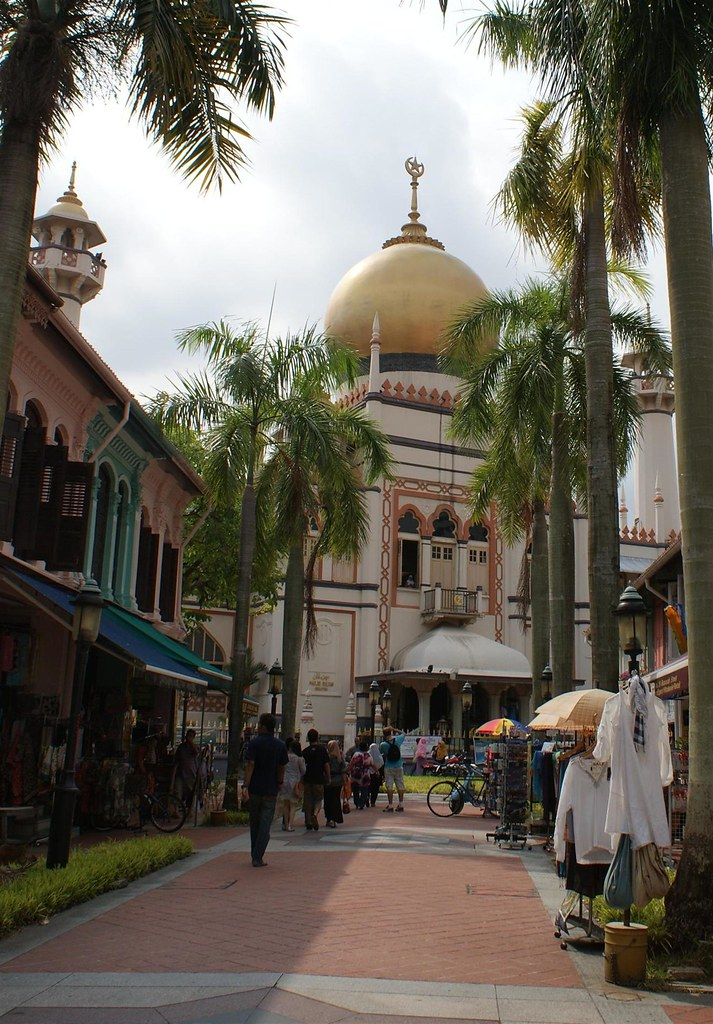 Down to the mosque, Bugis And Kampong Glam