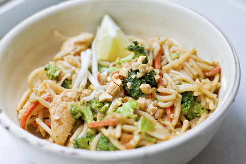 On My Menu: Noodle & Co.'s Thai Peanut Saute