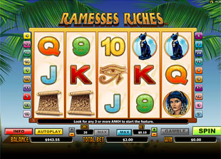 Ramesses Riches slot game online review