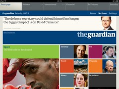 Guardian on the iPad