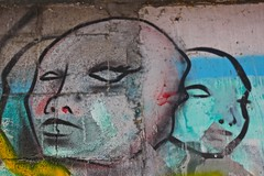 heads (borkur.net) Tags: graffiti spain murals galicia heads acoruna