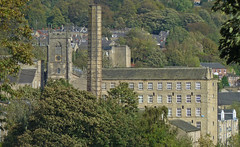 Church and Mill, Sowerby Bridge by Tim Green aka atoach