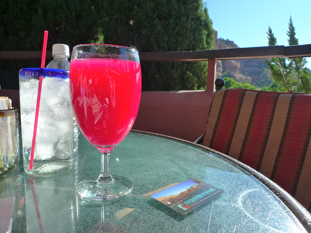 Prickly pear juice!