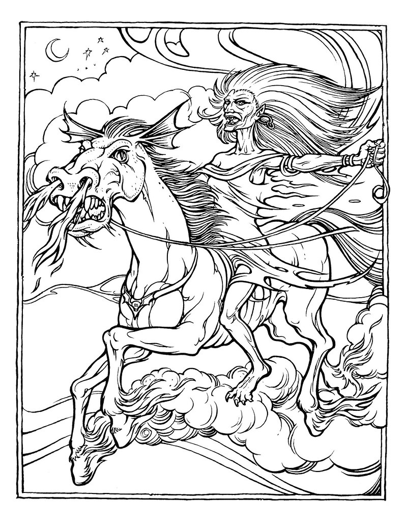 dungeons and dragons coloring pages - photo#13