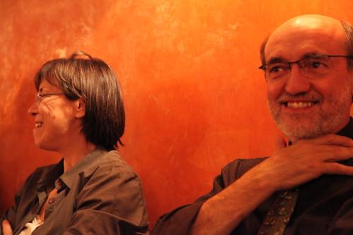 M. Viso et MC Maurel