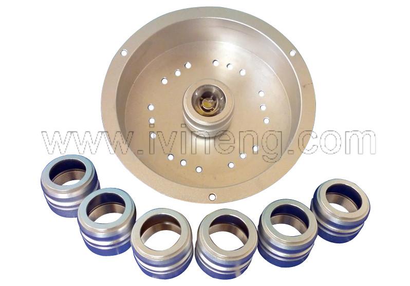 LED light metal fittings, led light metal accessories, led hardwares, led steel parts, led aluminium parts, cnc lathe led parts, lathe led accessories.