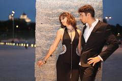 Juan y Nerea (JoaquinMadrid) Tags: madrid people juan models modelo personas nerea posado gird