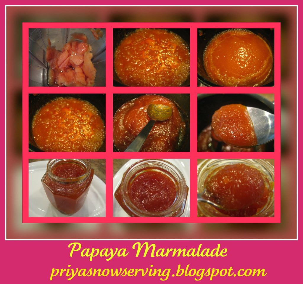 Papaya Marmalade collage