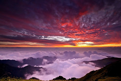 -  - Sunset of HeHuan Mountain (prince470701) Tags: sunset clouds taiwan    nantou  hehuanmountain  sonya850 sony1635za