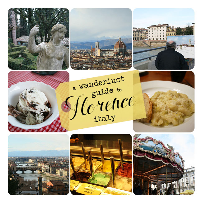 a wanderlust guide to florence