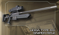 Binary Domain Pre-Order - Hoga Type 69 Sniper Rifle