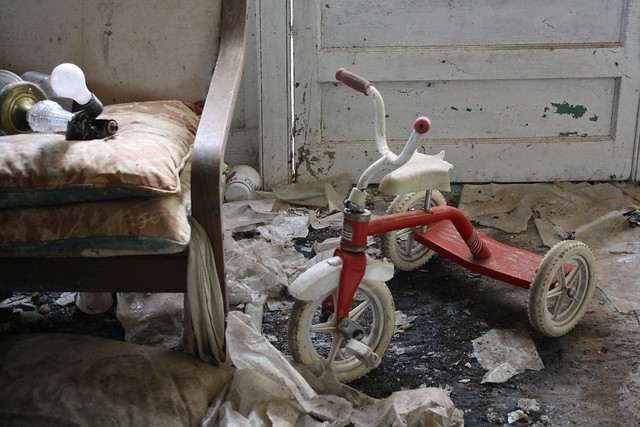 The tricycle of terror.