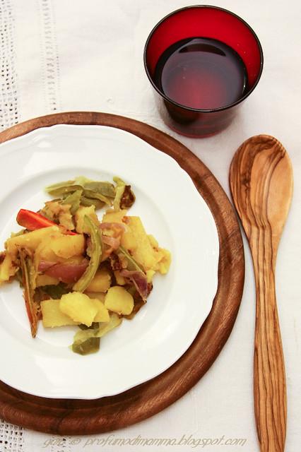 Peperoni e patate