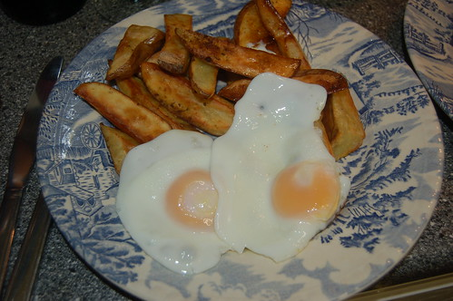 egg and chips Oct 11