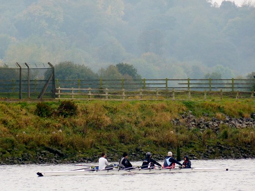 Rowing on River Tyne
