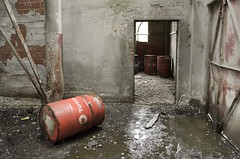 Clean Energy (jrej www.gregoirec.com) Tags: abandoned industry concrete industrial factory pentax barrel oil works waste total k5 urbex smcpda1650mmf28edalifsdm carolobeton