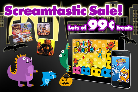 Halloween iOS Sale