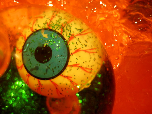 Halloween jelly messy play