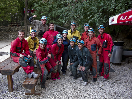 Caving in Budapest