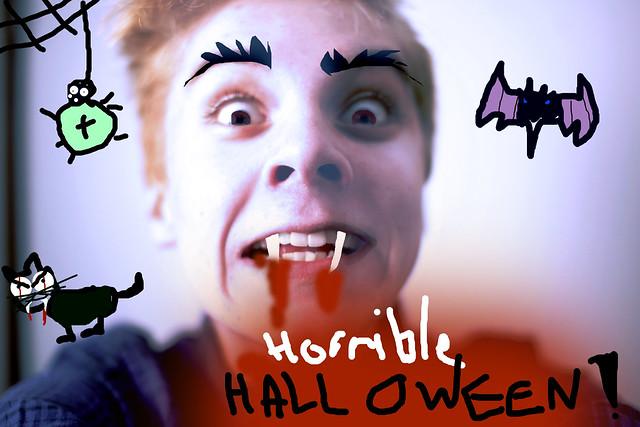 mikon hurja halloween tervehdys