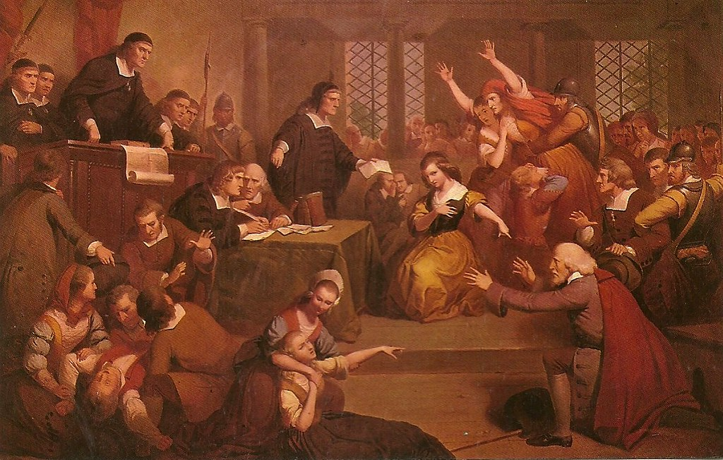 a discussion on witchcraft at salem In salem, 1692, at least twenty-four died in an unfortunate event we call the  salem witch trials today these puritans were murdered because their fellow  pur.
