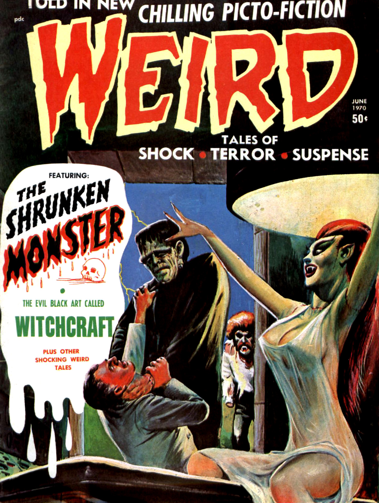 Weird Vol. 4 #3 (Eerie Publications, 1970)