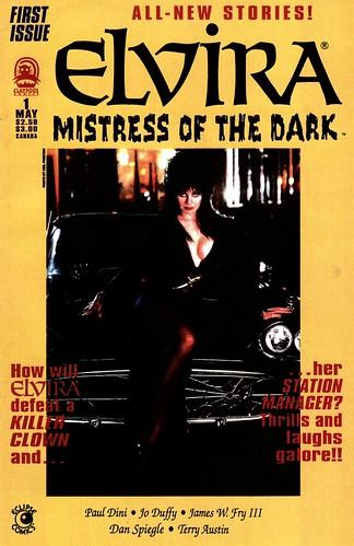 Elvira #1 Cover