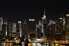 NYC (miche11) Tags: nyc newyorkcity newyork skyline night thechallengefactory