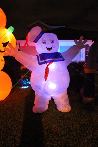 Stay Puft Marshmallow Man inflatable