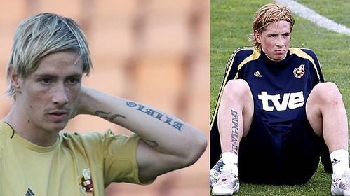 Fernando-Torres-tatuaje-brazo-y-gemelo