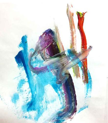 Close up Kestan painting