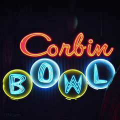 Corbin Bowl ~ Night (CPMcGann) Tags: california sign night square interesting nikon signage neonsign tarzana corbinbowl